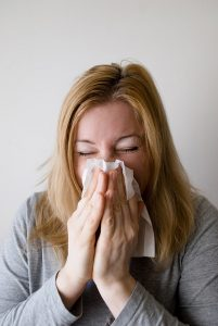 flu sneezing symptoms